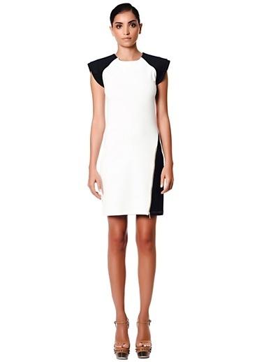 Network Elbise Beyaz